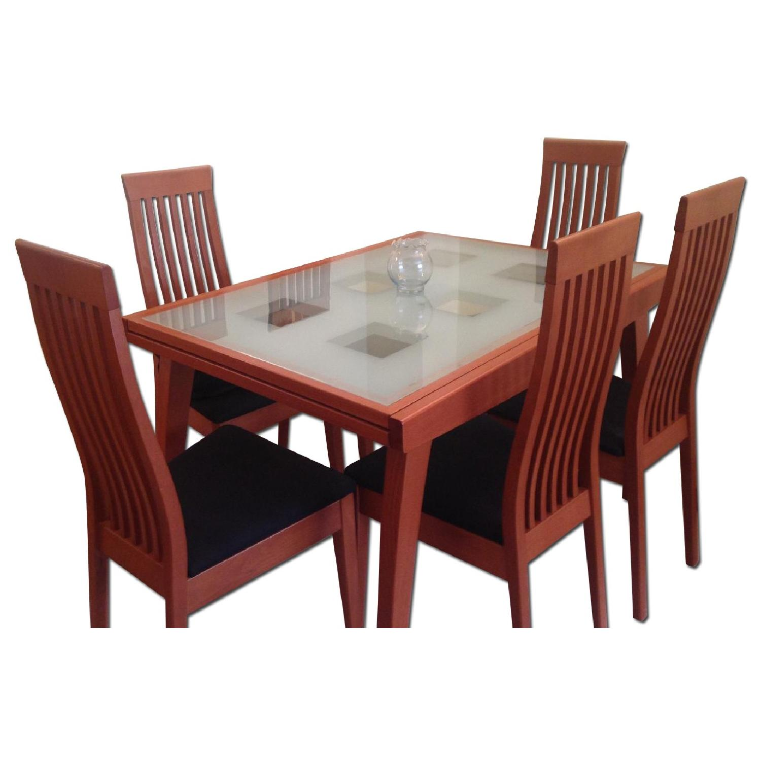 Calligaris Dining Table w/ 6 Chairs - image-0