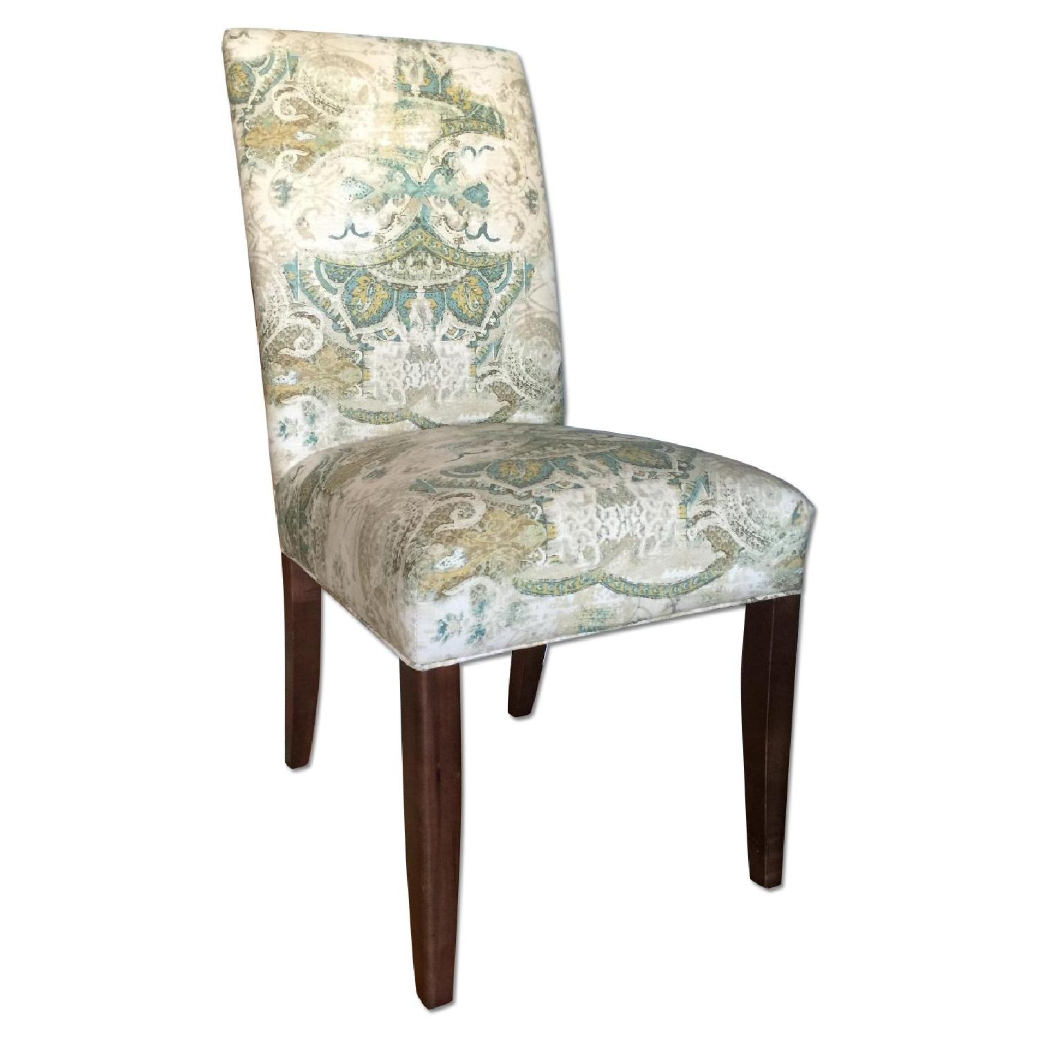 ABC Carpet and Home High Back Upholstered Dining Chairs - image-0