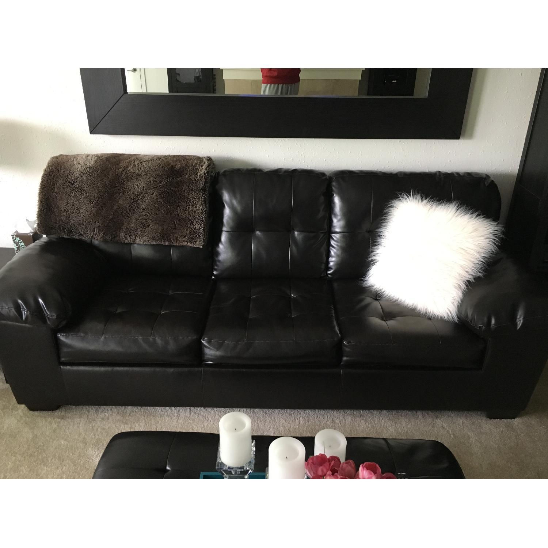 Ashley's Alliston DuraBlend Queen Sofa Sleeper - image-4