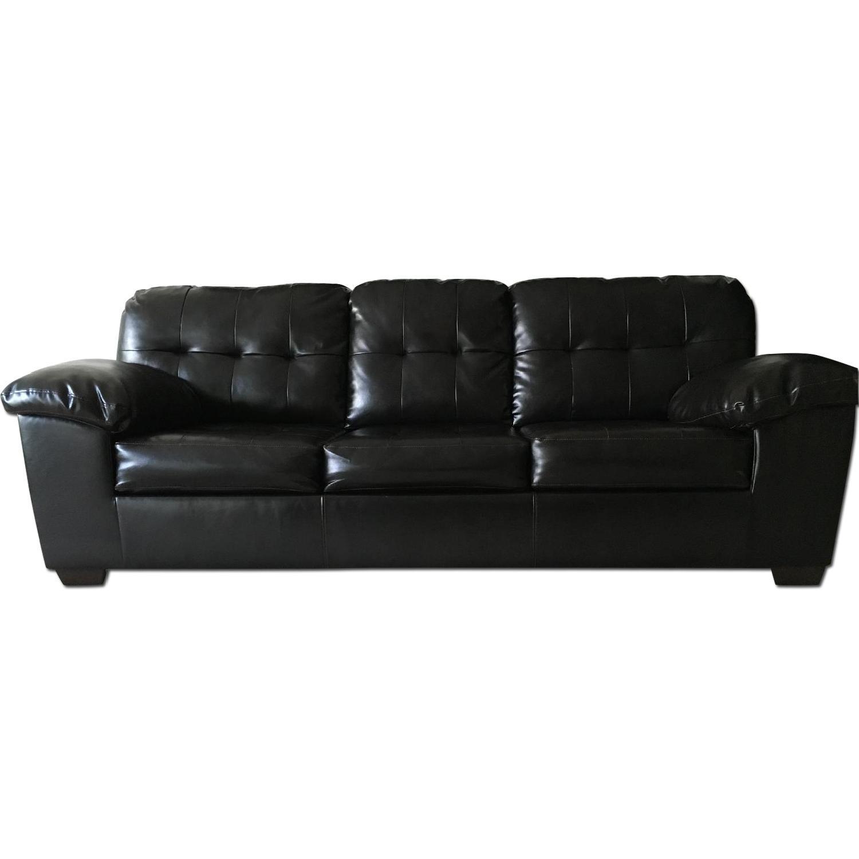 Ashley's Alliston DuraBlend Queen Sofa Sleeper - image-0