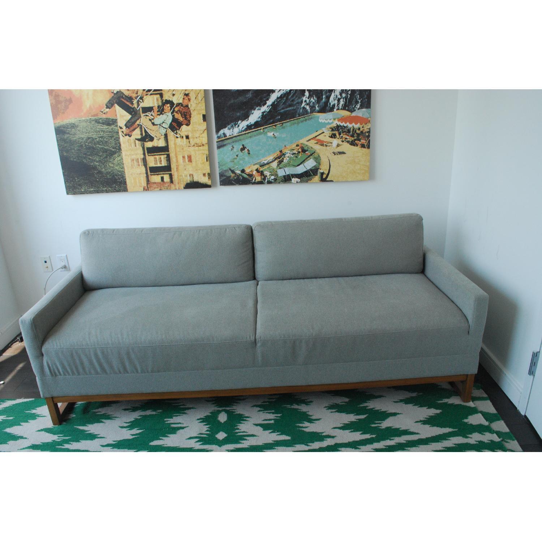Blu Dot Diplomat Apartment Sized Sleeper Sofa - image-1