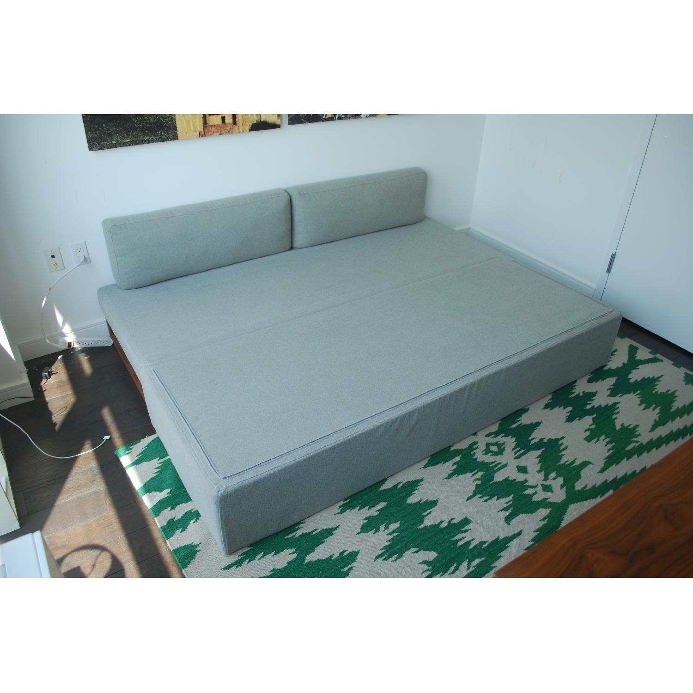 Blu Dot Diplomat Apartment Sized Sleeper Sofa - image-5