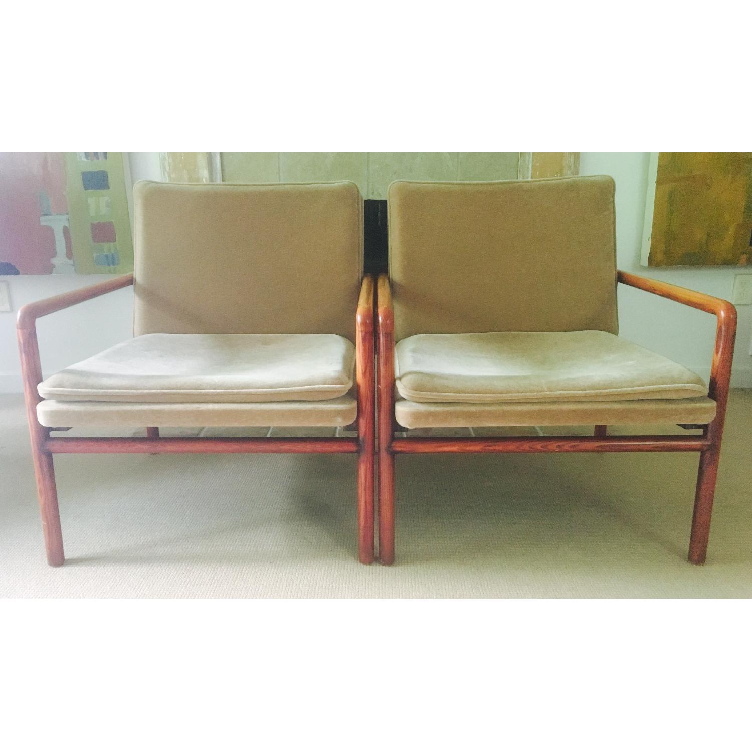 Mid Century Lounge Chairs - image-1