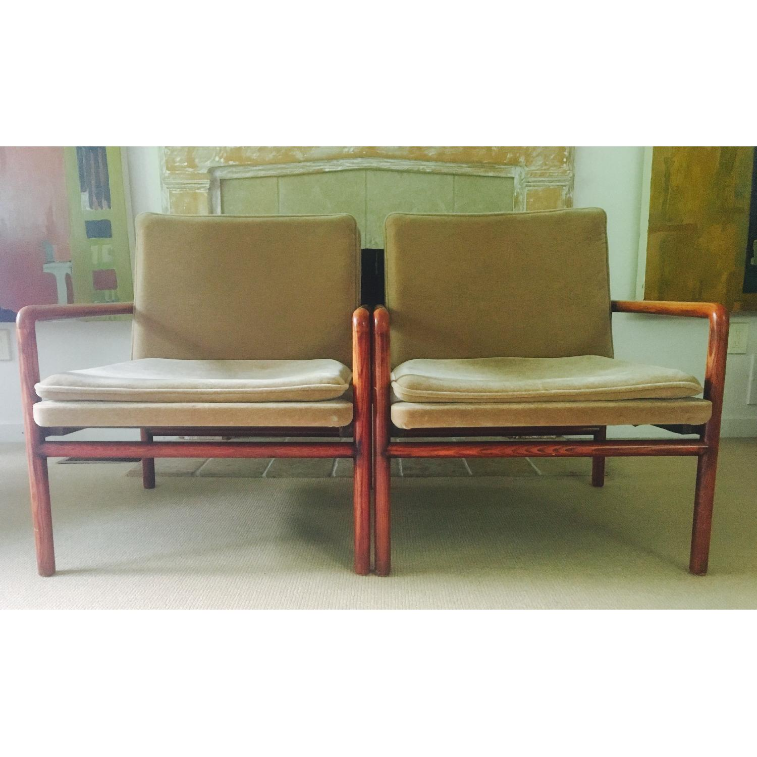 Mid Century Lounge Chairs - image-7