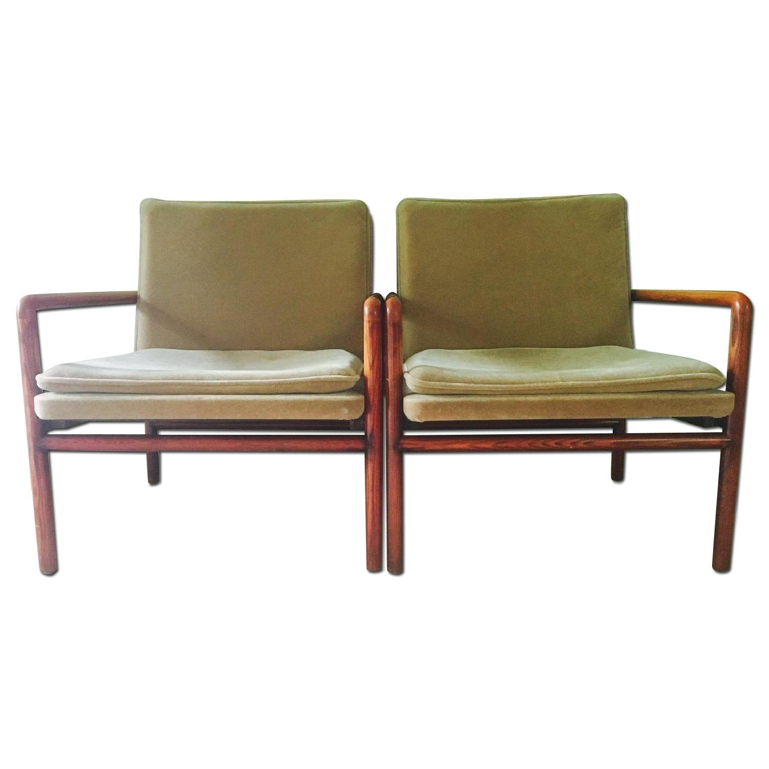 Mid Century Lounge Chairs - image-0