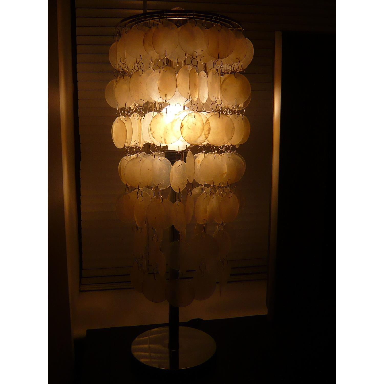 Capiz Shell Table Lamp - image-1