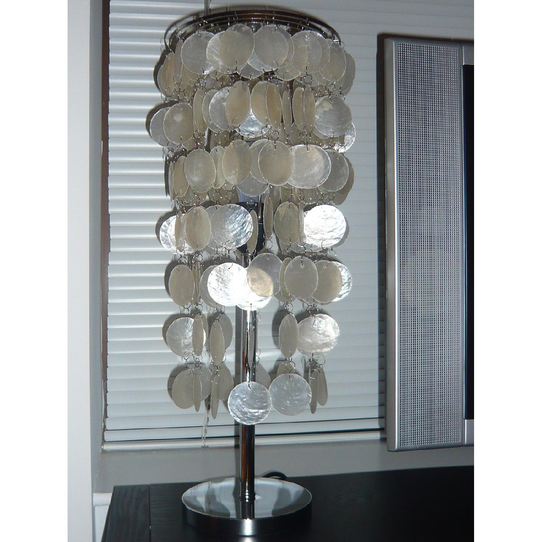 Capiz Shell Table Lamp - image-2