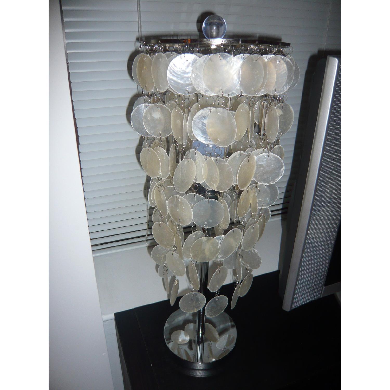 Capiz Shell Table Lamp - image-3
