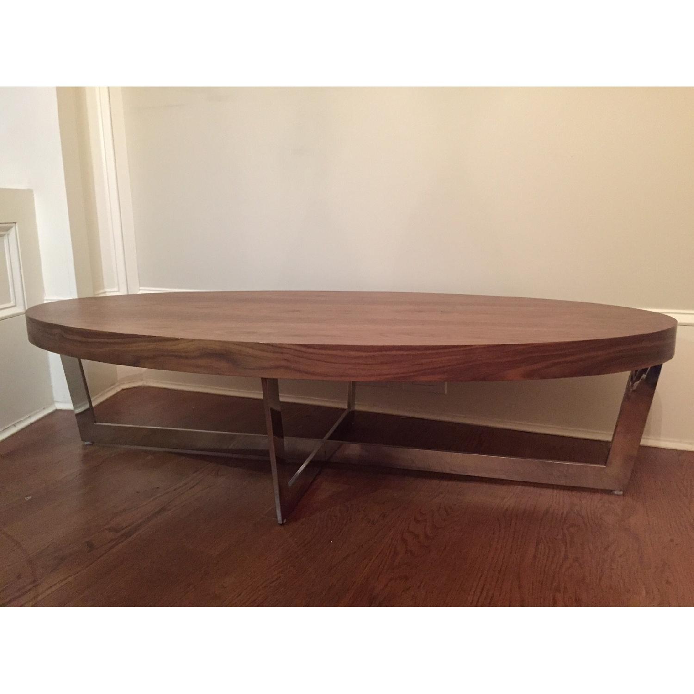 Pangaea Home & Garden Walnut Coffee Table - image-1