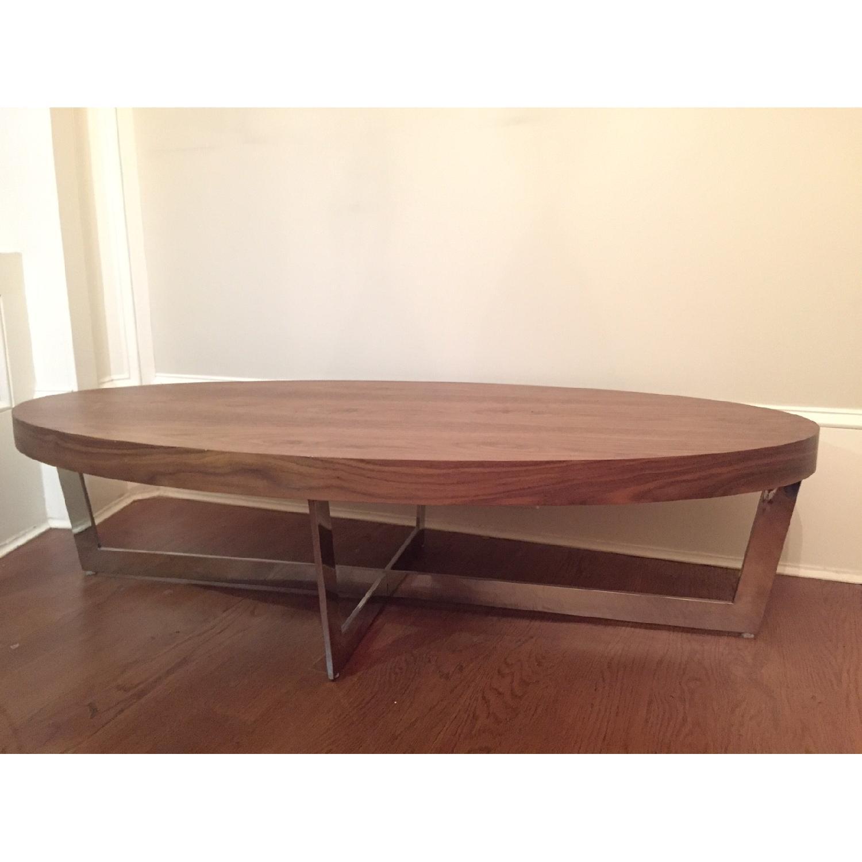 Pangaea Home & Garden Walnut Coffee Table - image-2