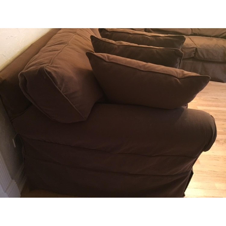 Restoration Hardware Sleeper Sectional Sofa - image-2