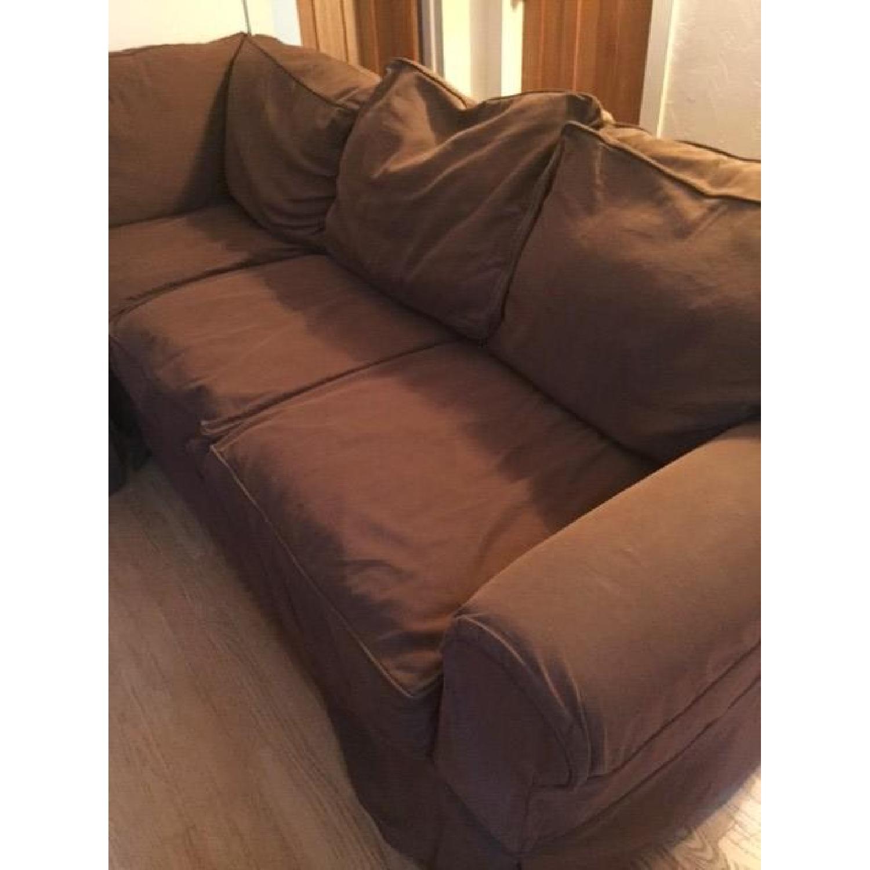 Restoration Hardware Sleeper Sectional Sofa - image-6