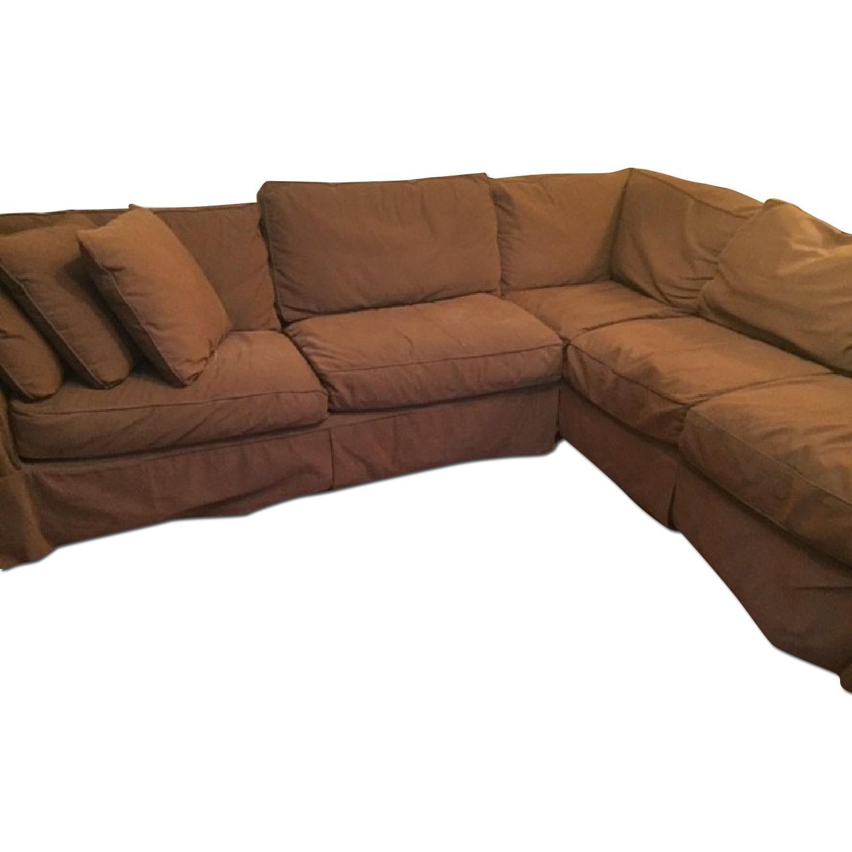 Restoration Hardware Sleeper Sectional Sofa - image-0