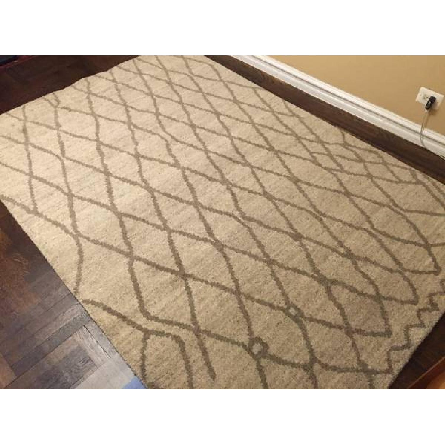 Feizy Barbary Collection Modern Wool Rug - image-1
