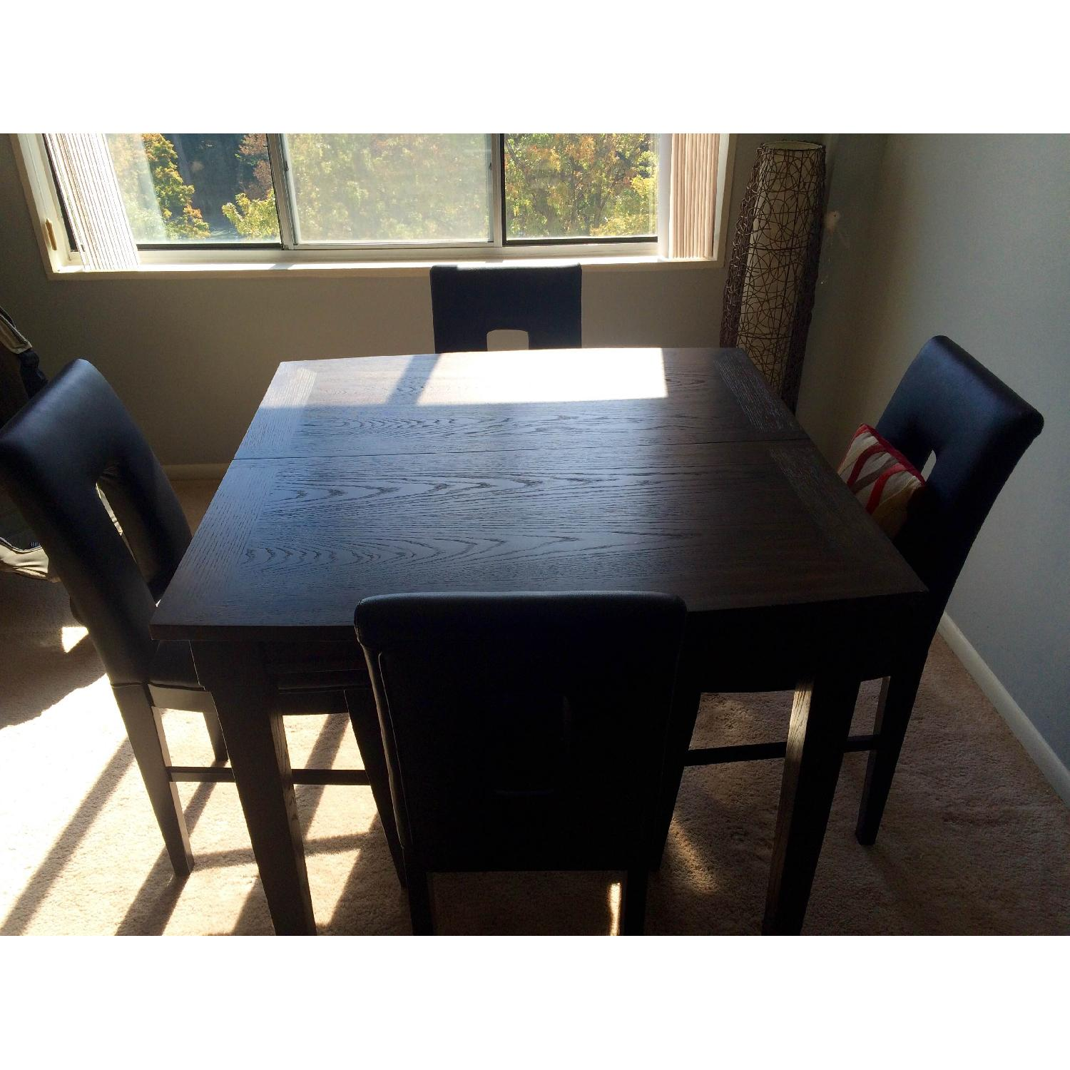 Broyhill Italian Leather Counter-Height Chairs - image-4