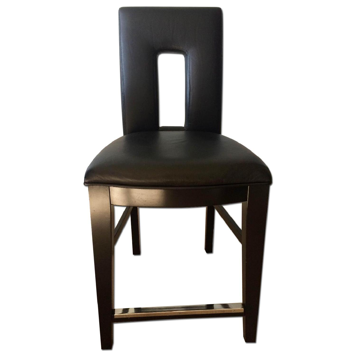Broyhill Italian Leather Counter-Height Chairs - image-0