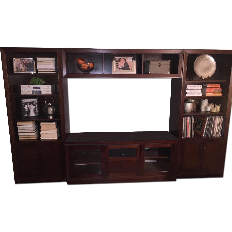 Crate & Barrel Library Medium Media Center - image-0