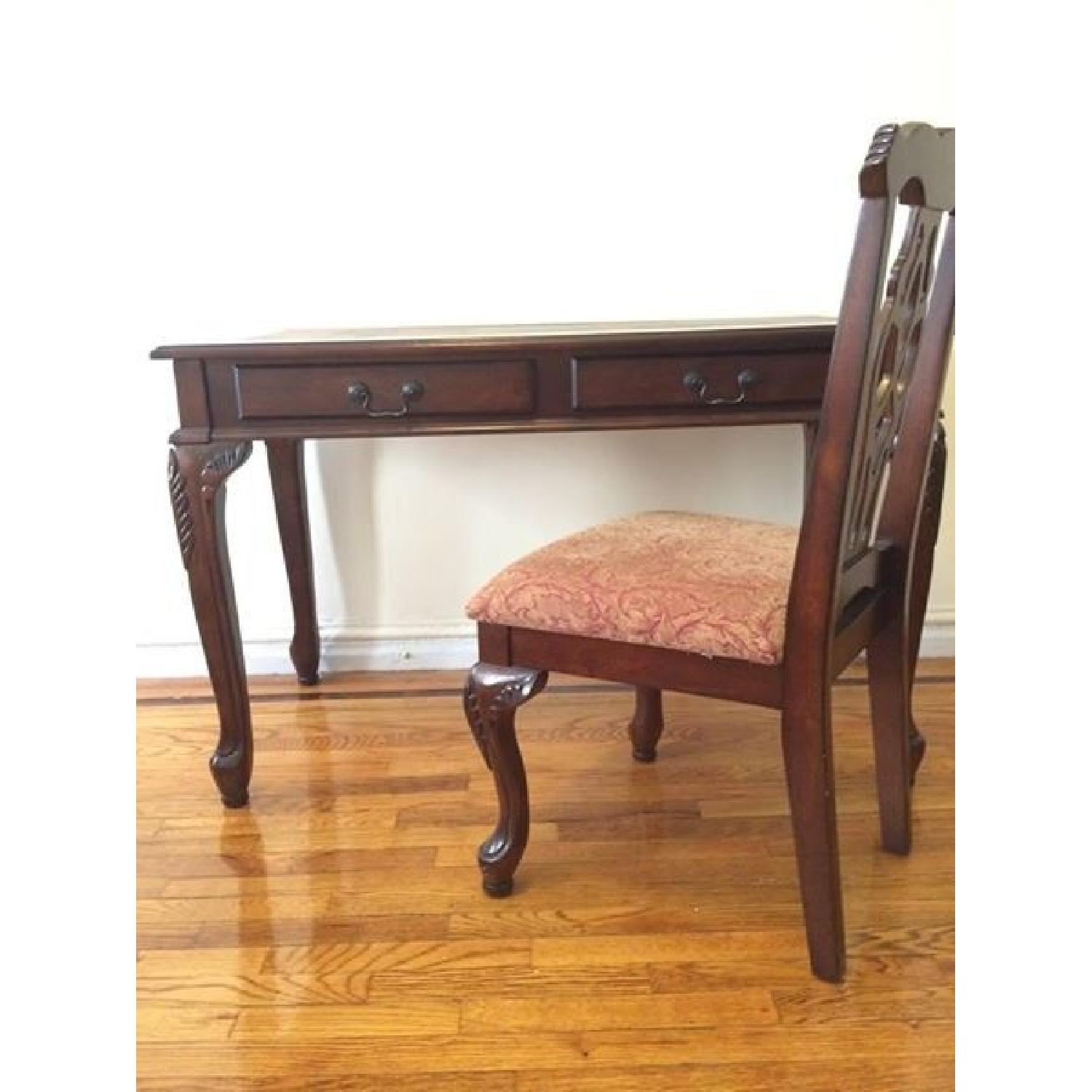 Old World Desk & Chair - image-1
