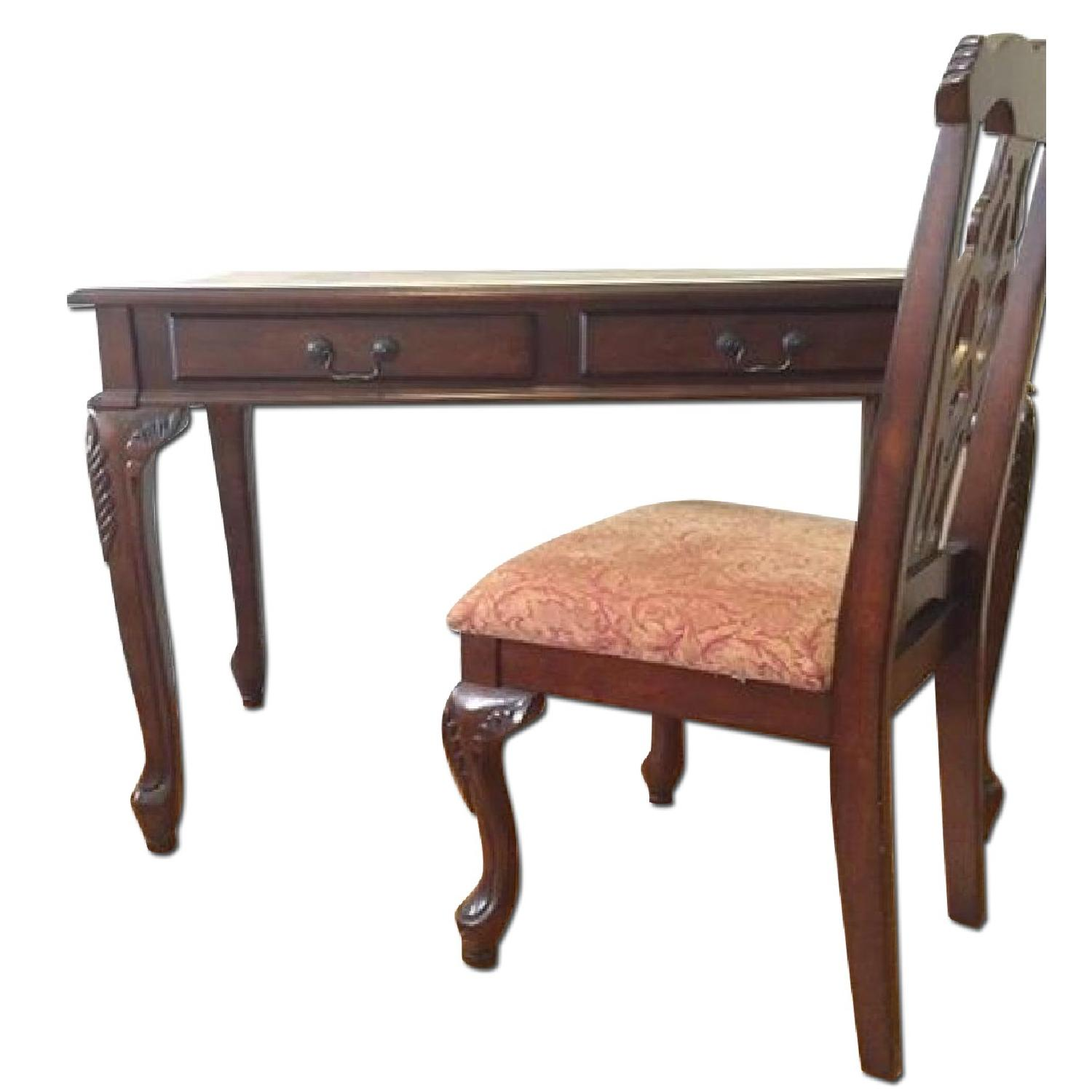Old World Desk & Chair - image-0