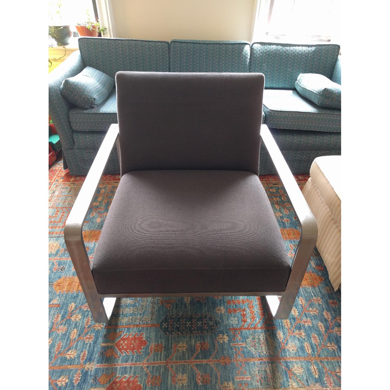 Room & Board Hubbard Modern Steel Rocking Chair - image-1