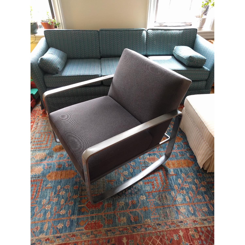 Room & Board Hubbard Modern Steel Rocking Chair - image-2