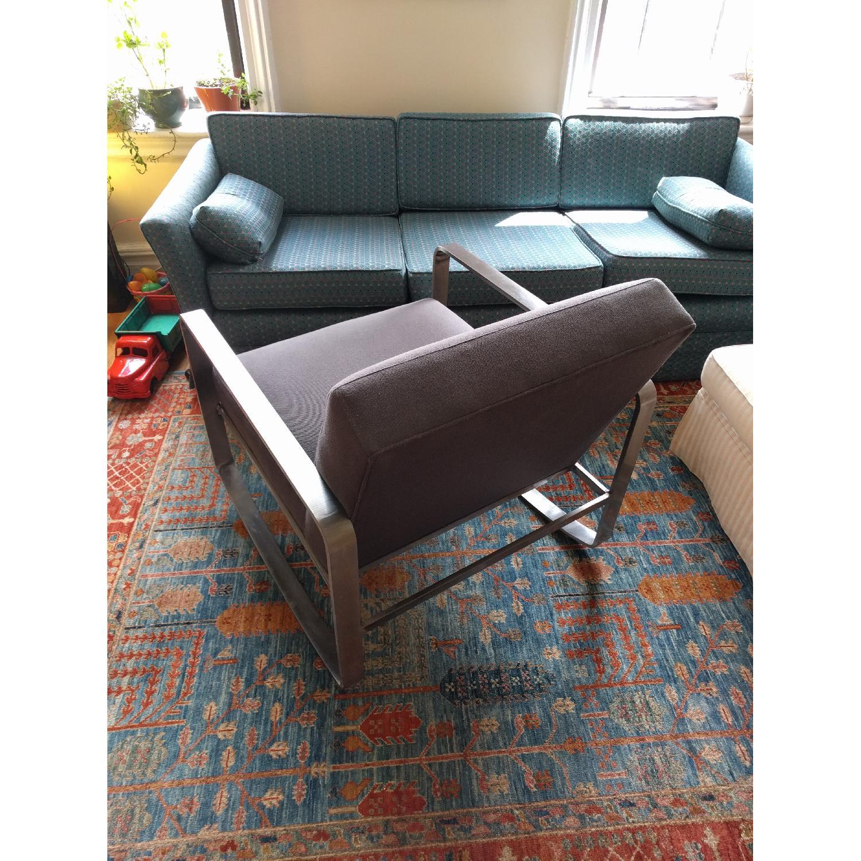 Room & Board Hubbard Modern Steel Rocking Chair - image-3