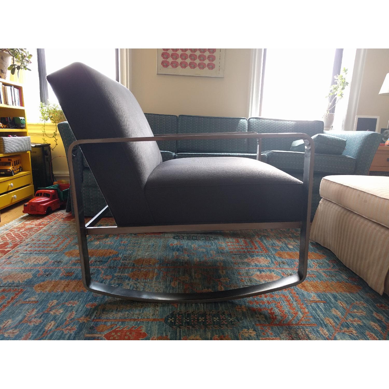 Room & Board Hubbard Modern Steel Rocking Chair - image-4