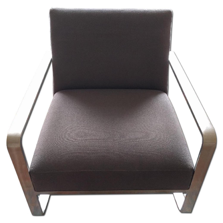 Room & Board Hubbard Modern Steel Rocking Chair - image-0