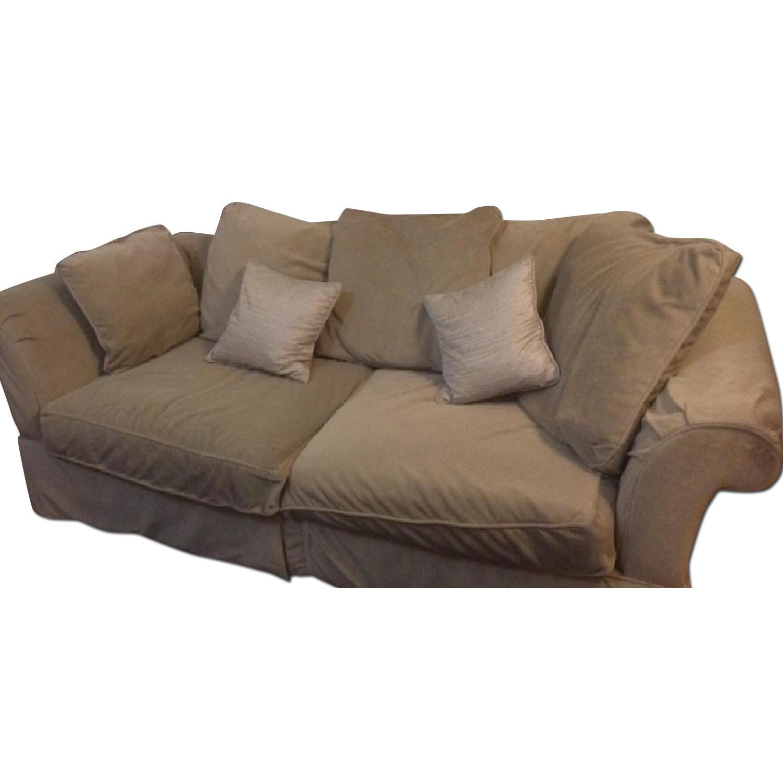 Pottery Barn Sleeper Sofa - image-0