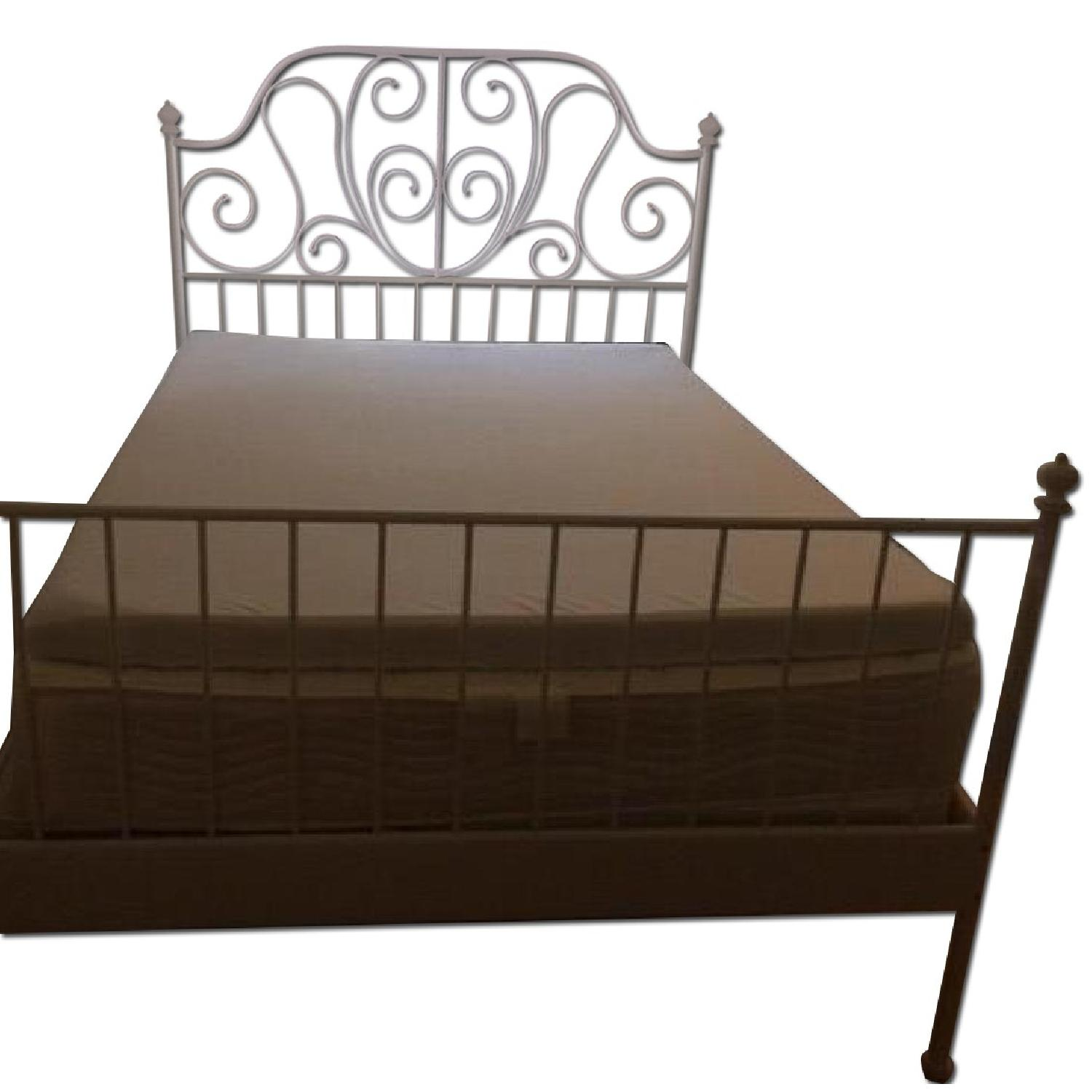 Full Size Bed Frame w/ Headboard - image-0