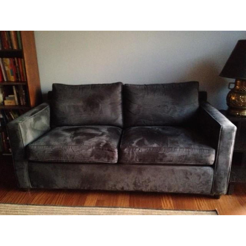 Crate & Barrel Sleeper sofa - image-1