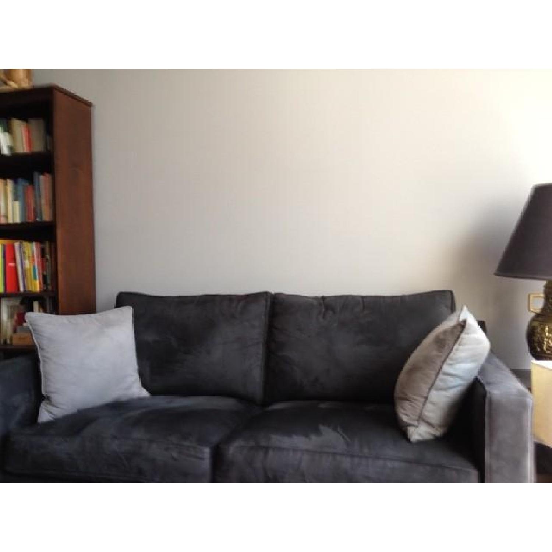Crate & Barrel Sleeper sofa - image-2