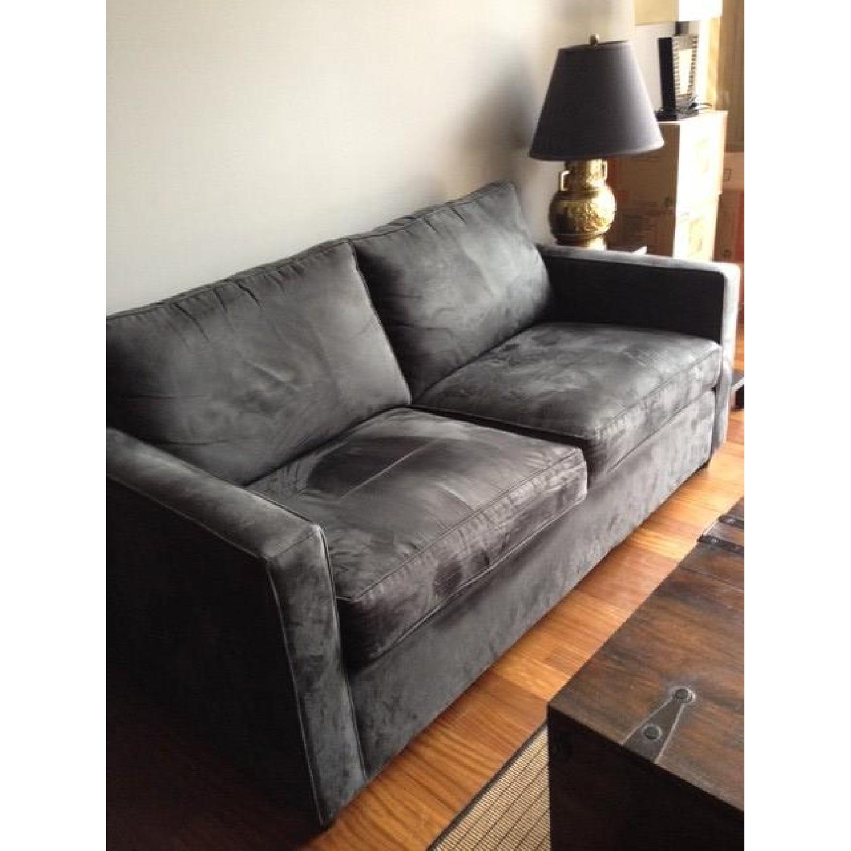 Crate & Barrel Sleeper sofa - image-3