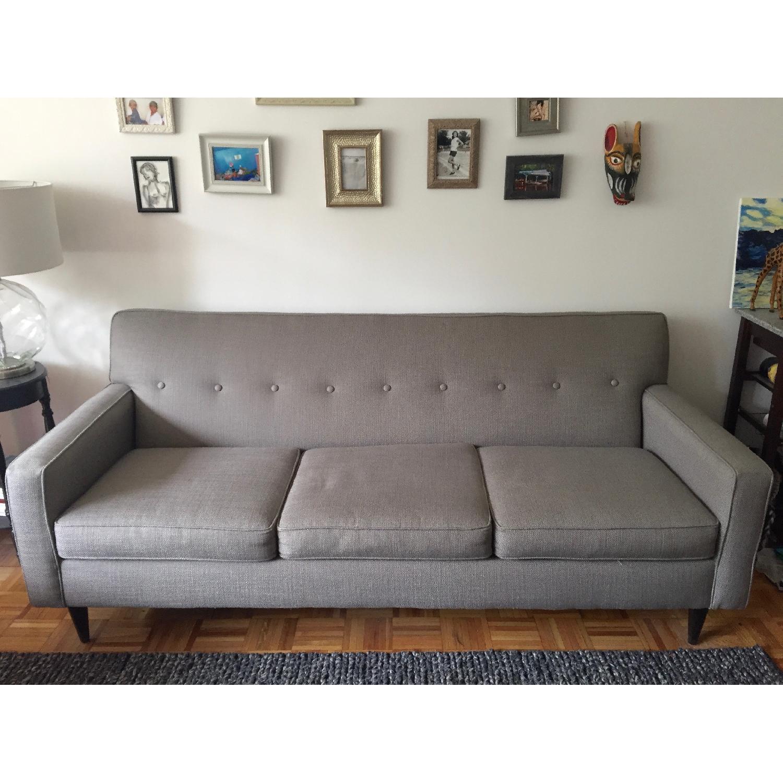 Macy's Sofa in Granite - image-1