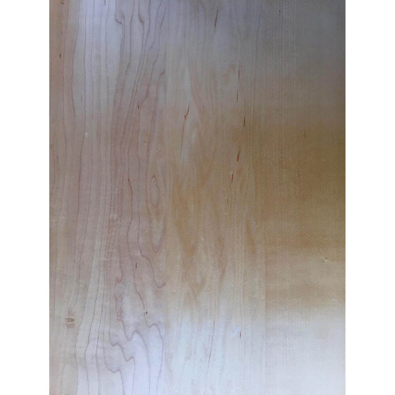 Crate & Barrel Wood L-Shaped Desk - image-3