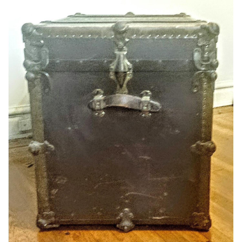 Antique Steamer Trunk - image-3