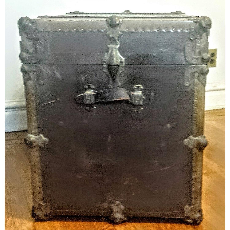 Antique Steamer Trunk - image-5