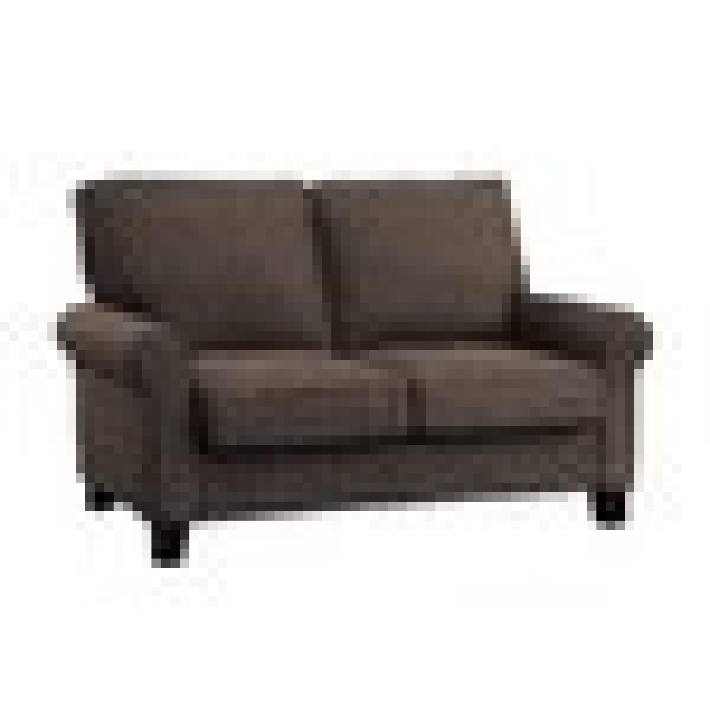 Chocolate Buxton 2-Seat Loveseat - image-1