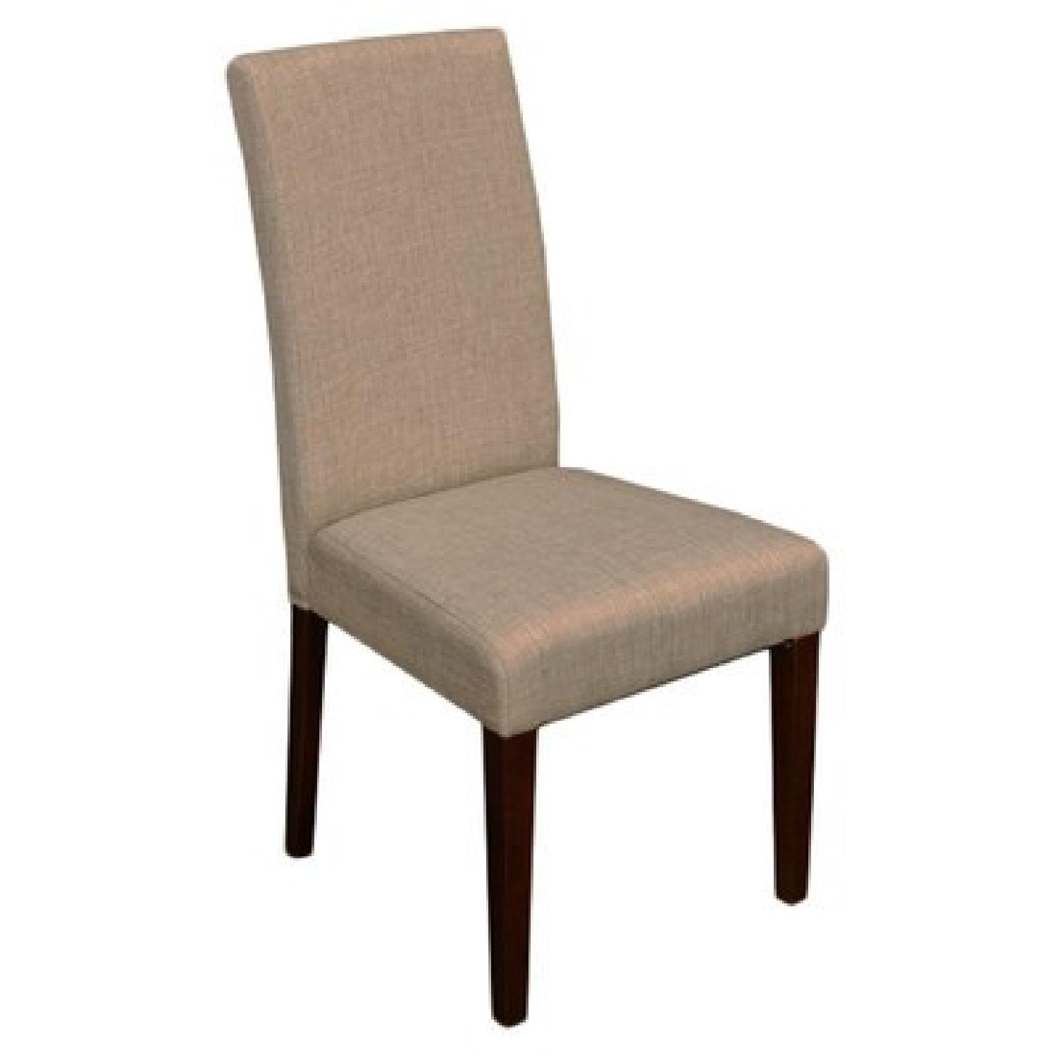 Monsoon Pacific Beige High-Backed Dining Chairs - image-1