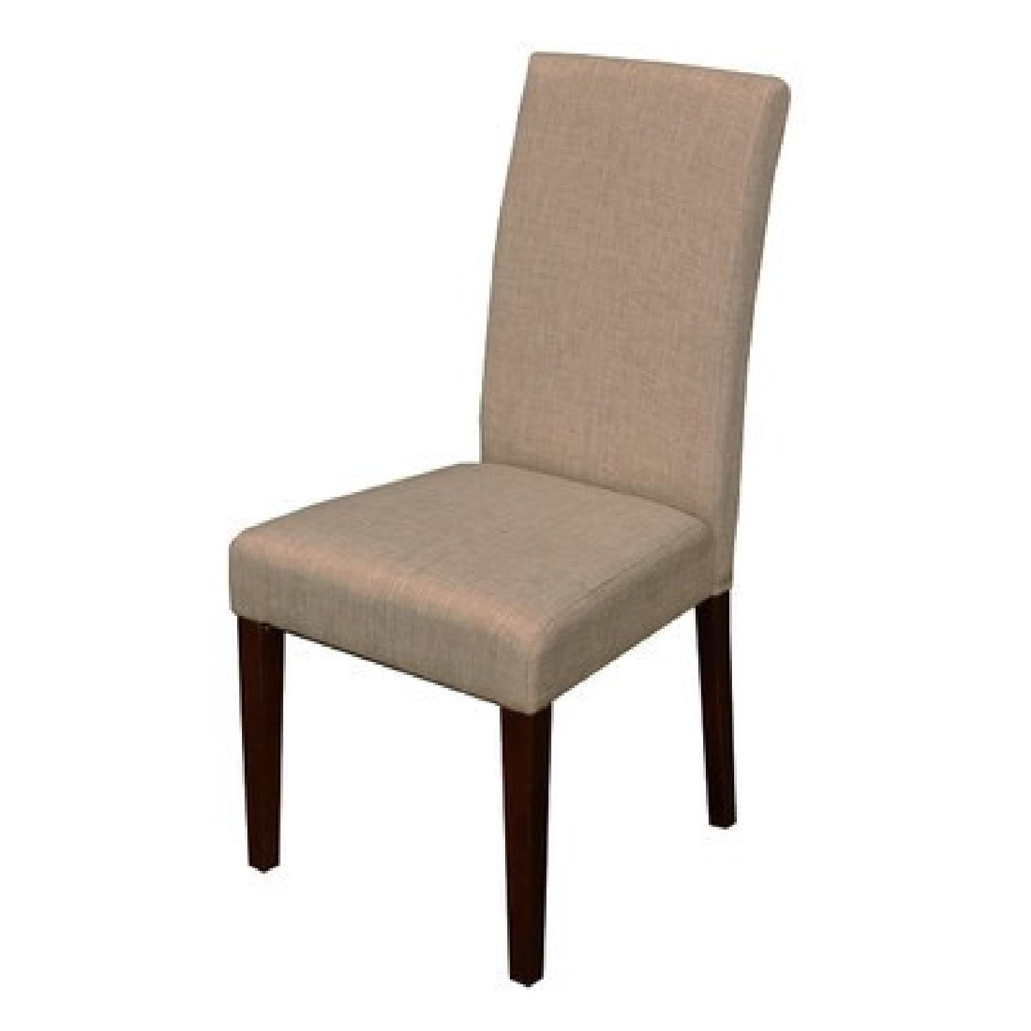 Monsoon Pacific Beige High-Backed Dining Chairs - image-0
