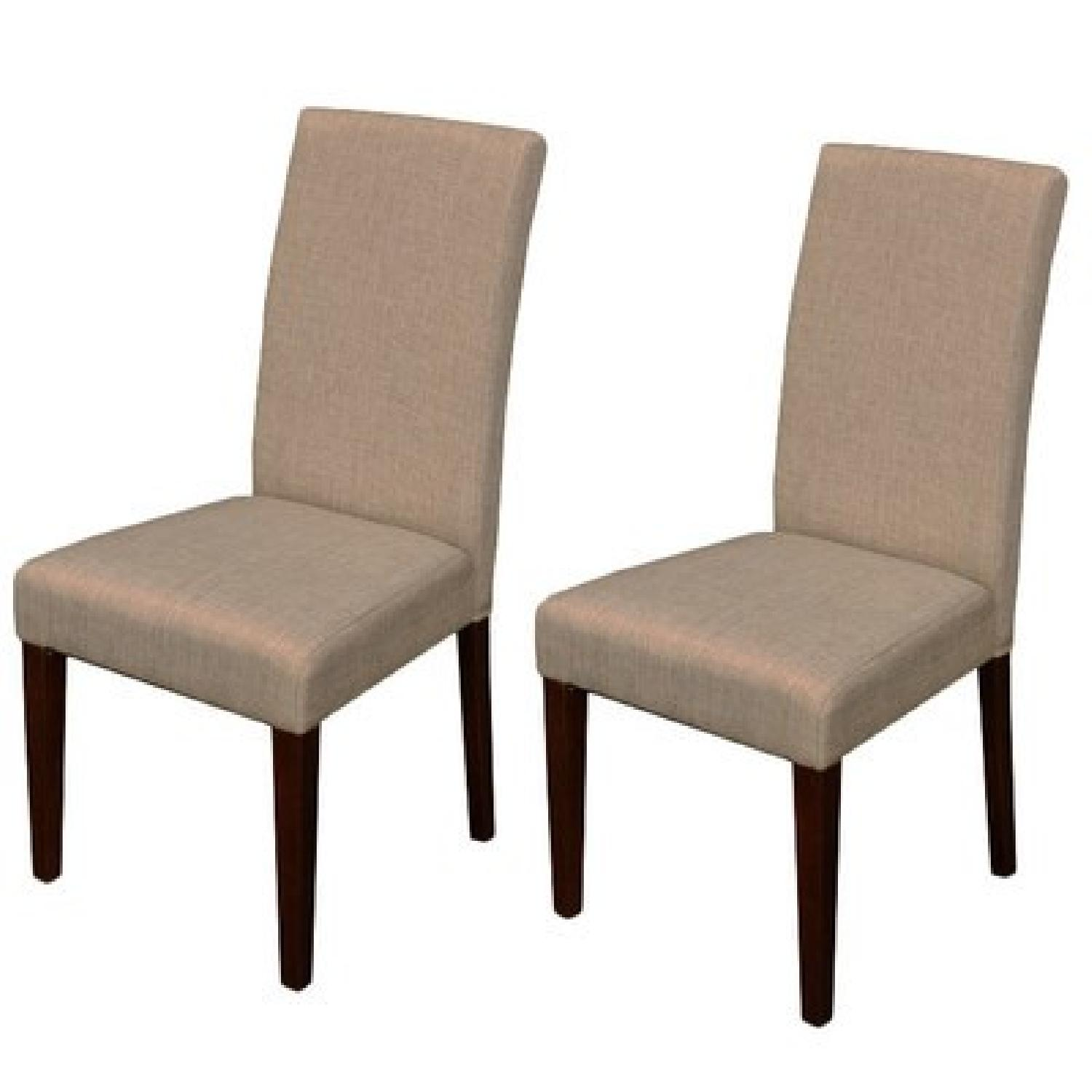 Monsoon Pacific Beige High-Backed Dining Chairs - image-3