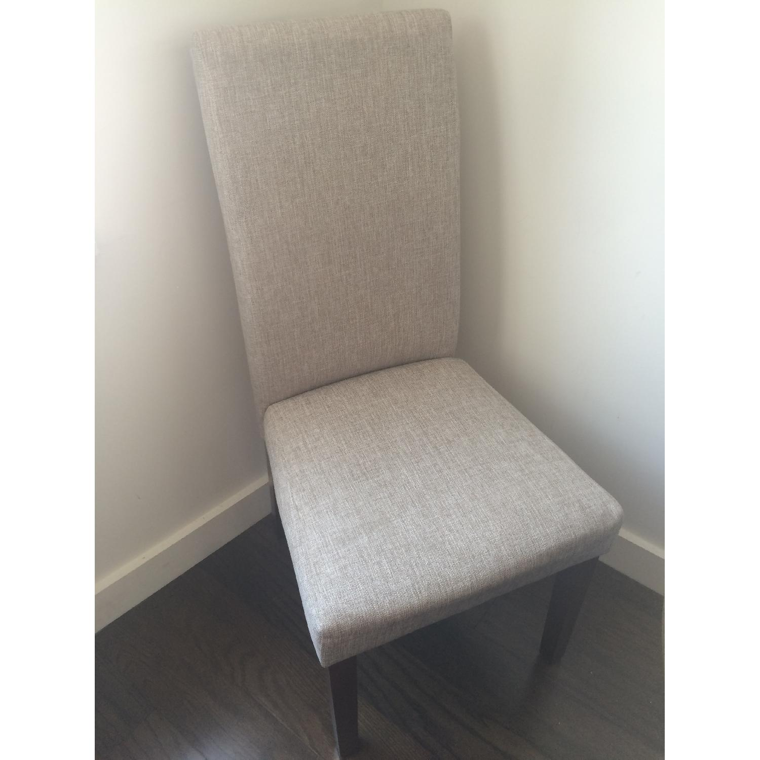 Monsoon Pacific Beige High-Backed Dining Chairs - image-4