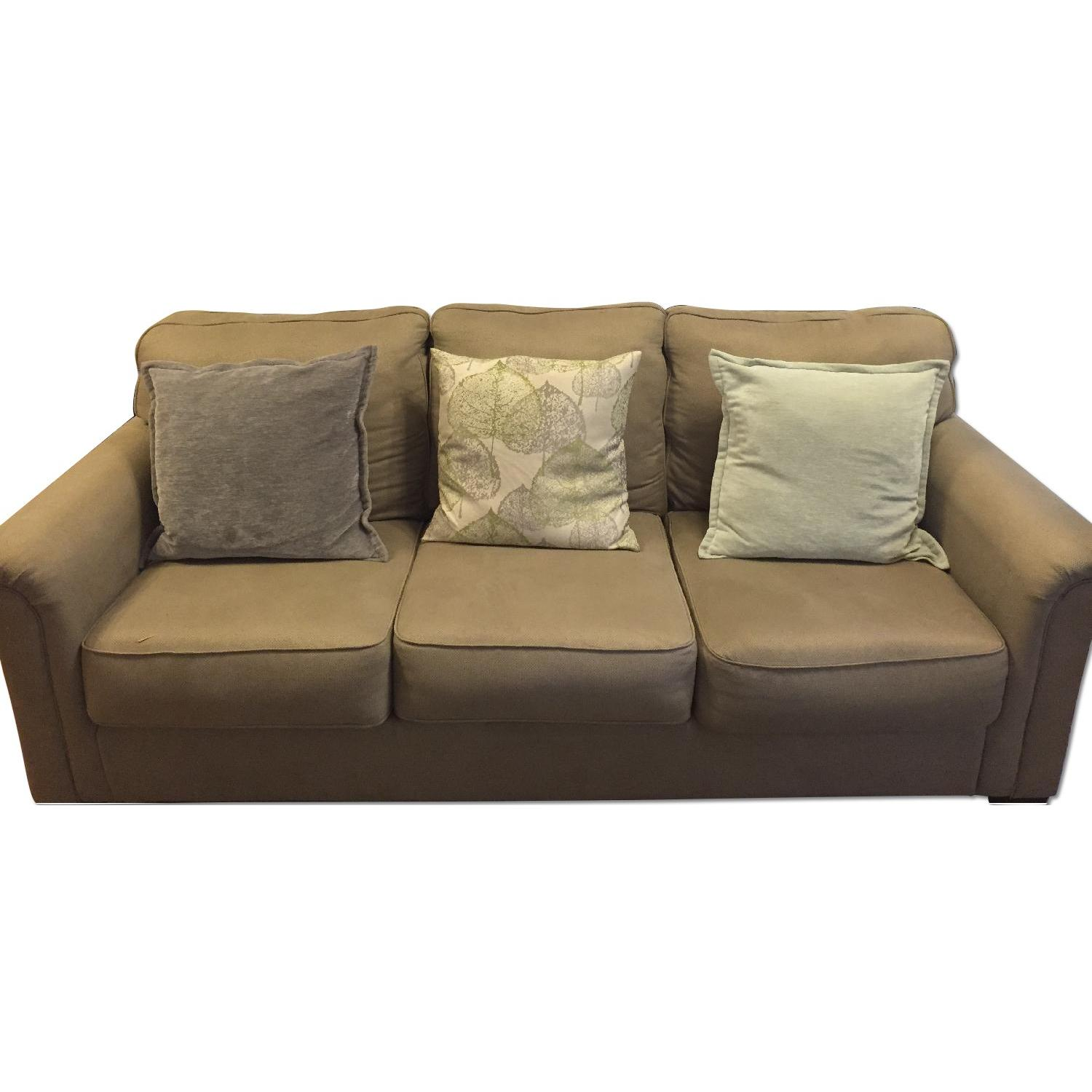 Ashley's Tan Couch - image-0