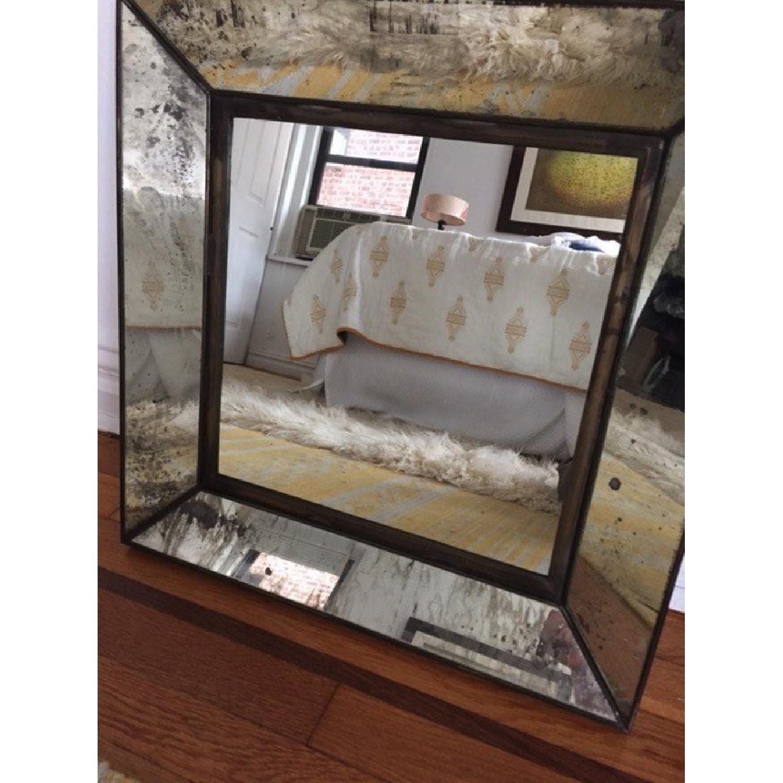 Crate & Barrel Square Mirror - image-1