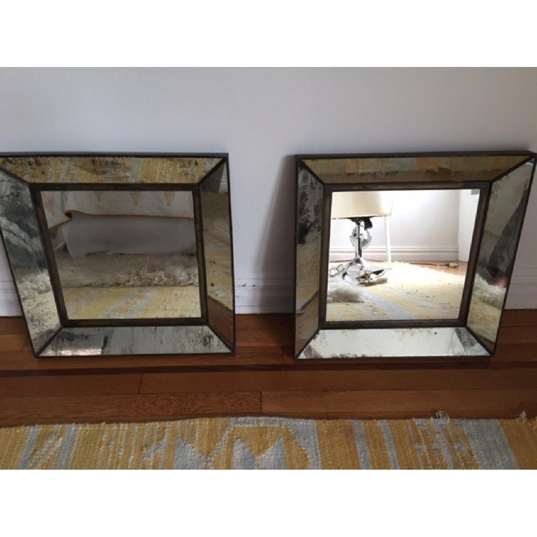 Crate & Barrel Square Mirror - image-2