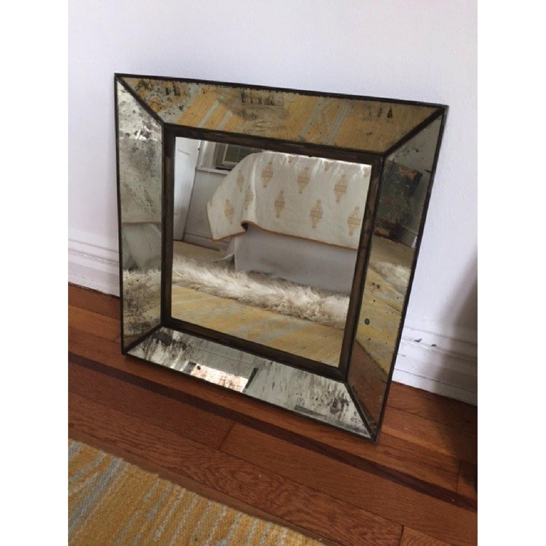 Crate & Barrel Square Mirror - image-3