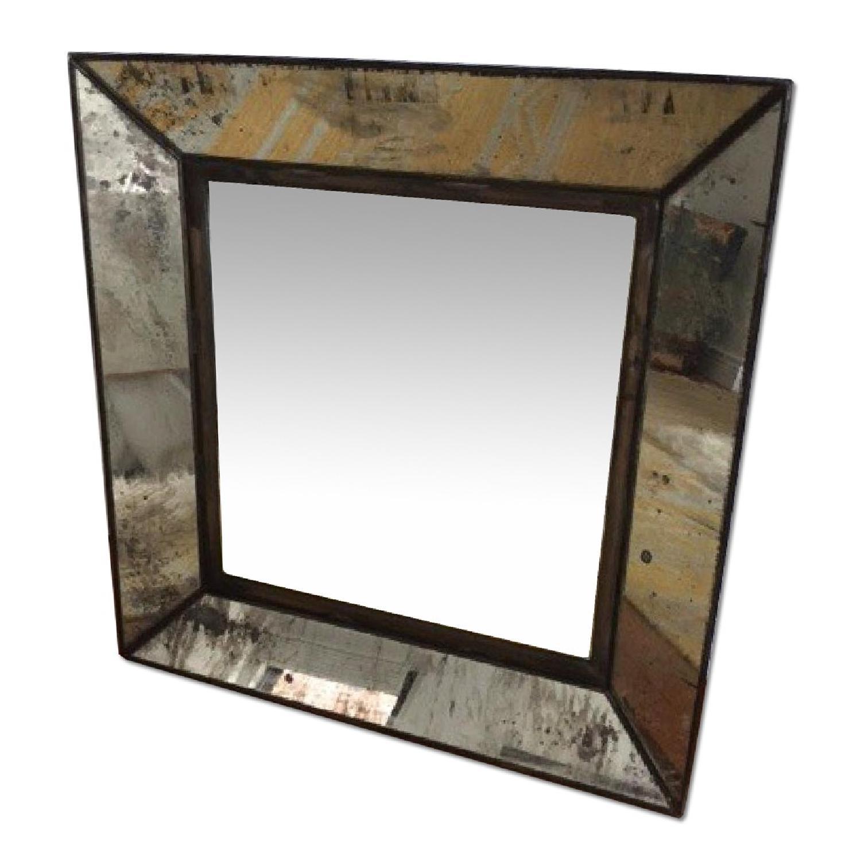 Crate & Barrel Square Mirror - image-0