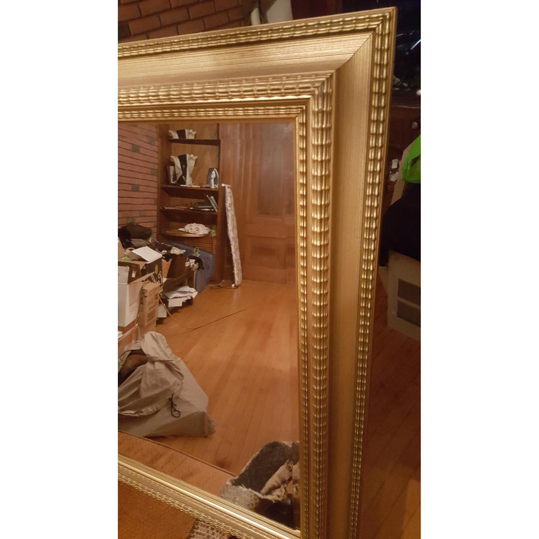 Large Gold Framed Mirror - image-2