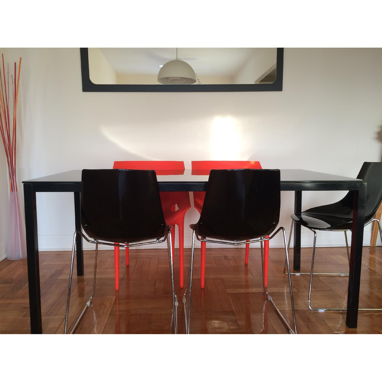 Kartell Dr. Yes Chair by Philippe Starck in Matte Orange Red - image-6