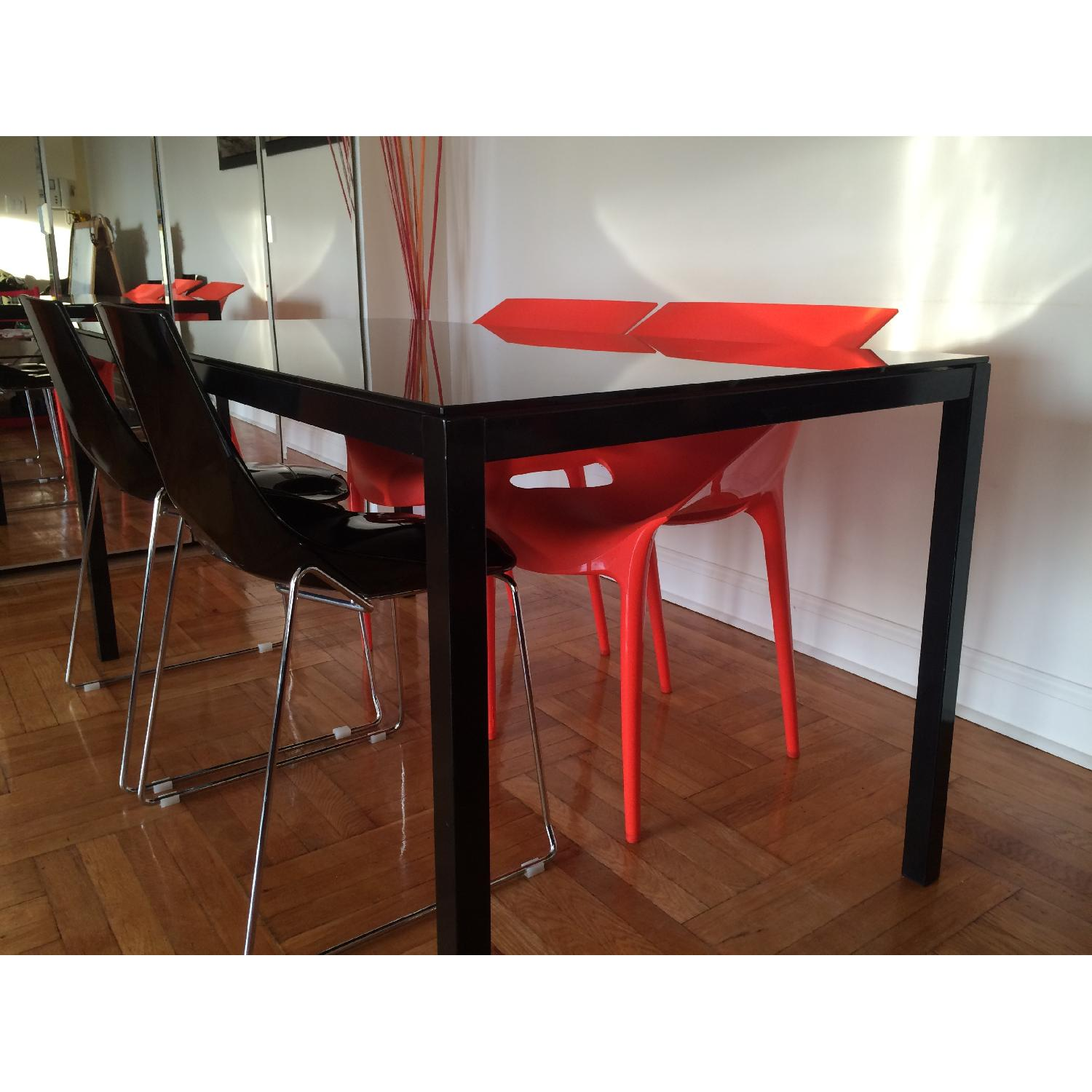 Kartell Dr. Yes Chair by Philippe Starck in Matte Orange Red - image-7
